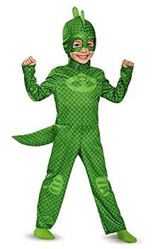 Disguise Gekko Classic Toddler PJ Masks Costume Large/4-6 Green