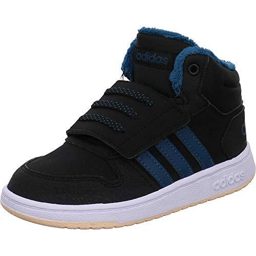 adidas Hoops MID 2.0 I, color Negro, talla 24 EU