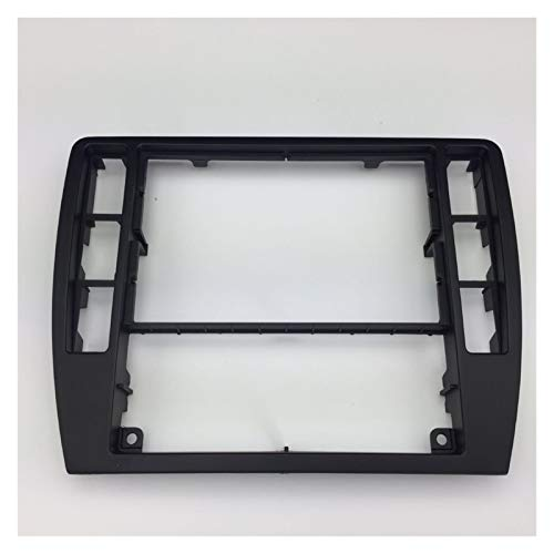 MIAOXIAO Seedling Store Ajuste para VW Passat B5 Middle Escutcheon Centro Caja Decorativa Cuadro de Control Panel de Consola Grabadora de CD Frame Radio Face Riet 3B0 858 069