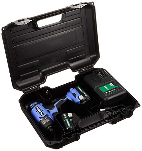 HiKOKI(ハイコーキ) 10.8V コードレスインパクトドライバ 1.5Ah バッテリ2本・充電器・ケース付 FWH12DAL(2ES)
