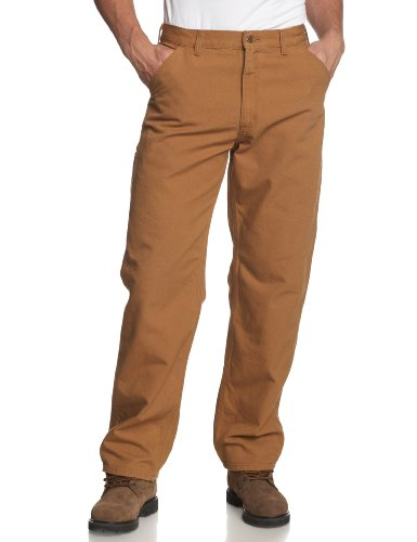 Carhartt Men's Washed Duck Work Dungaree Pant,Carhartt Brown,36W x 30L