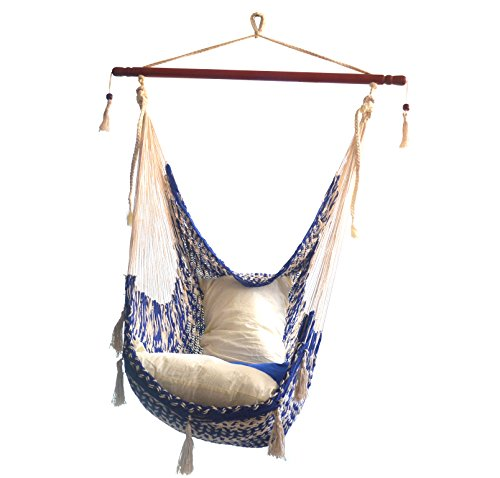 HAMMOCKS RADA - Chair Hammock Deluxe (Dark Blue/Natural)