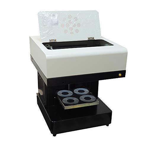 Syoon - Impresora de café con 4 tazas para tartas de latte y selfie 4 Cups Printer