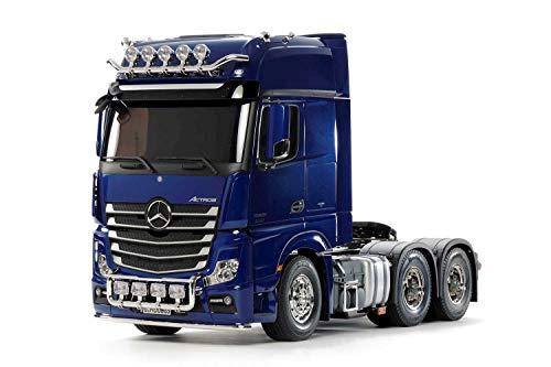 Tamiya Mercedes-Benz 1:14 MB Actros 3363 Pearl Blue prel. -Kit de Montaje, RC, Control Remoto, camión, Juguete de construcción, modelismo, jugueteo, Color (56354)