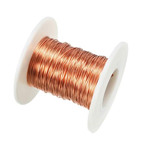sourcing map 0,41mm diám. Cable de cobre esmaltado del imán utilizada para...