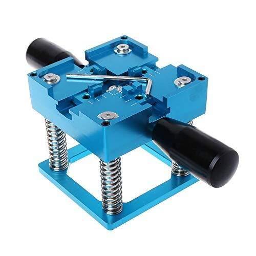 L-YINGZON Taladro Azul BGA Kit BGA estación de 90x90mm con caña de la Mano Regalo BGA Universal de la Plantilla