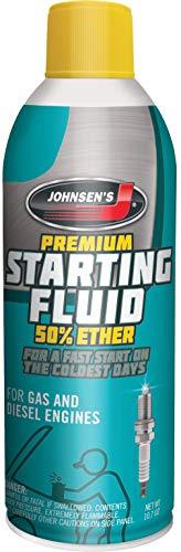Johnsen's 6752-12PK Premium Starting Fluid - 10.7 oz., (Pack of 12)