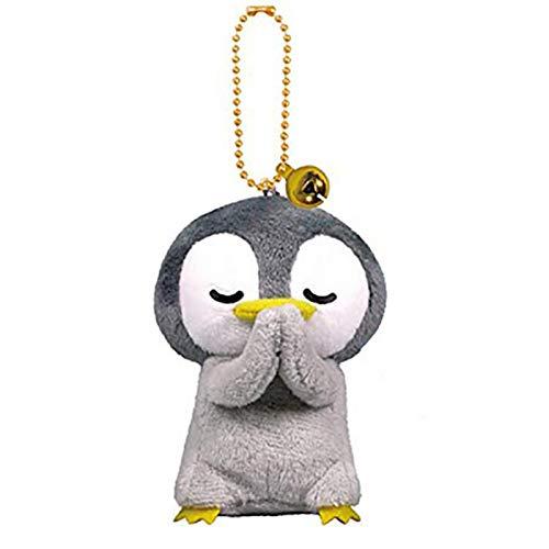 yqs Llavero Stuffed Penguin Llavero De Felpa Animales Llaveros para Bolsas Ocean Animal Colgante Ornamentos Orar Cosas Buenas Cosas Regalos de Cumpleaños