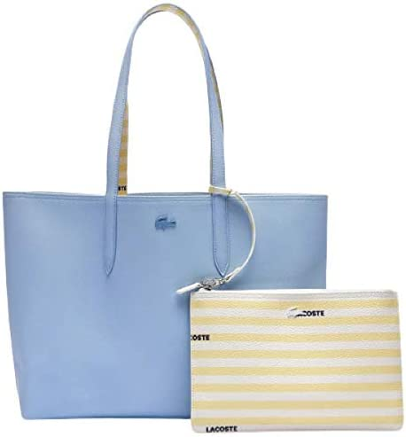 Lacoste Womens Anna Shopping Tote Bag Panorama Stripes product image