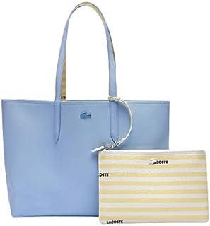 حقيبة التسوق انا مخططة للنساء من لاكوست