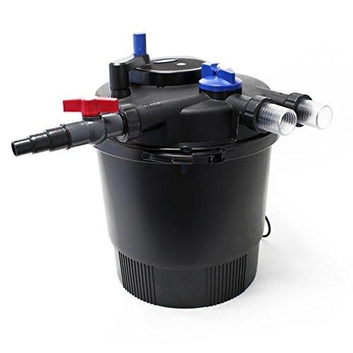 SunSun CPF-20000 Druckteichfilter UVC 36W 12000 L/h Teich Filter Teichfilter