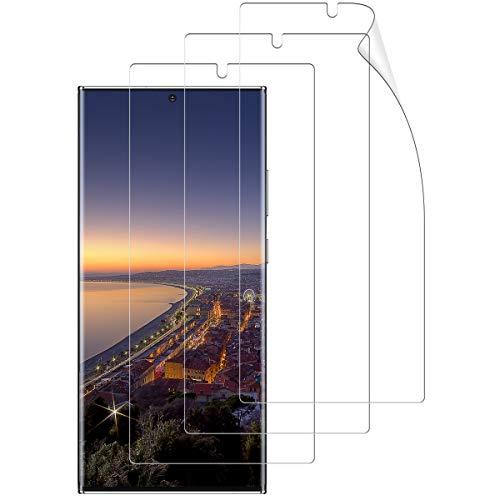 [3 Stück] Schutzfolie kompatibel mit Samsung Galaxy Note 20 Ultra, Vollständige Abdeckung Anti-Öl Weich TPU Bildschirmschutzfolie für Galaxy Note 20 Ultra(Nicht Panzerglas)