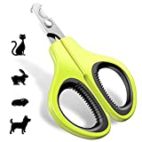 JOFUYU Pet Nail Clippers for Small Animal – Professional Cat Nail Clippers and Claw Trimmer - Best Cat Claw Clippers for Rabbit Puppy Kitten Kitty Guinea Pig Small Dog - Sharp, Safe