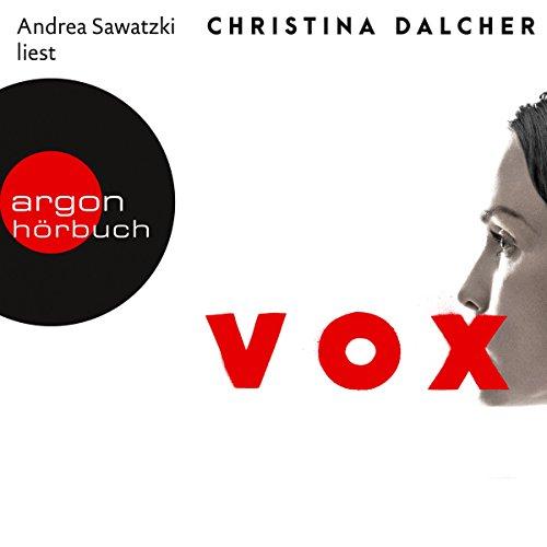 Vox audiobook cover art