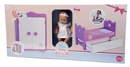 Falca Baby Puppe mit Zubehör (28009)
