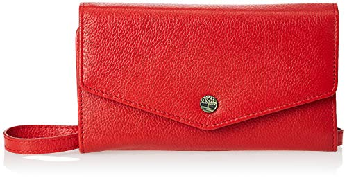cartera roja mujer fabricante Timberland