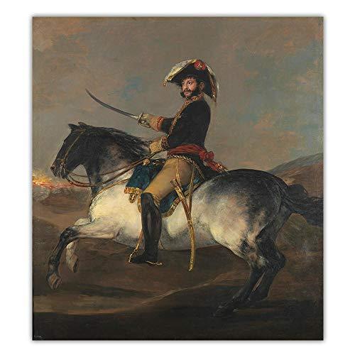 Estilo Europeo Poster Francisco Goya 《General Jose De Pala