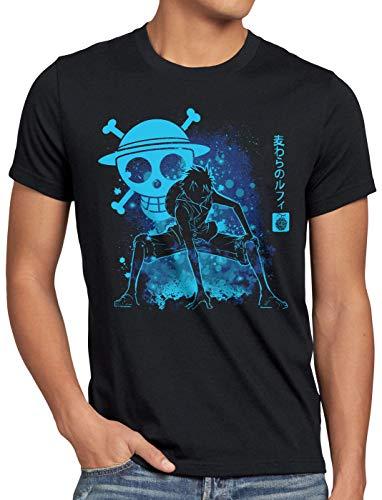 style3 Pirate Piece Madness Herren T-Shirt one Anime Piece japanisch, Größe:4XL