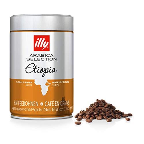 Illy Espresso Bohnen 6 x 250 g ganze Monoarabica Äthiopien - 7096