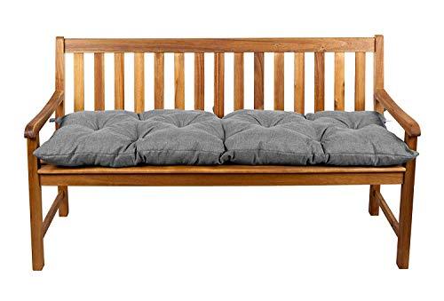 Coussins pour banc, coussins pour balançoire de jardin, siège LS (100x50, Gris 3)