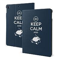 カビゴン ポ-ケ-モ-ン Poke-mon タブレットケース Ipadケース Ipad 9.7inch タブレット保護カバー 手帳型ケース レザーケース スリープ喚起機能付け 2つ折スタンド 薄型 可愛い おしゃれ シンプル