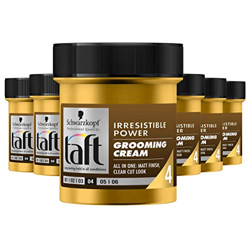 Schwarzkopf Taft Irresistible Power Grooming Cream Wax 130ml, 6 stuks