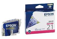 EPSON ICM21(カラーインクカートリッジ:マゼンタ)