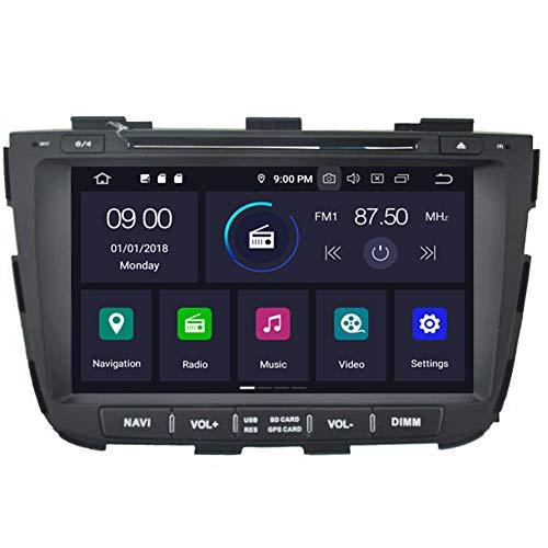 Autosion Android 10 Cortex A9 1.6 G Lecteur DVD de Voiture GPS Radio Head Unit Navi stéréo multimédia WiFi pour Kia Sorento XM 2013 2014 2015 Support Commande au Volant
