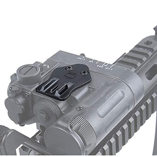 WADSN 2PCS/Set DBAL D2 Laser Machine Sight The Assistant Sight Kit for DBAL-D2 Flashlight Accessory (BK 2PCS)