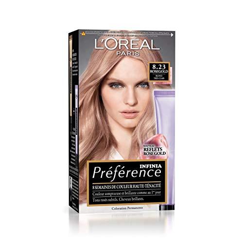 L'Oréal - Preference - Coloring No. 8.23 Gold Shimmering Pink Rose Unit - Lot De 2 - Preis pro Los - Schnelle Lieferung