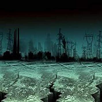 Teen Girl In Dystopian Hellscape