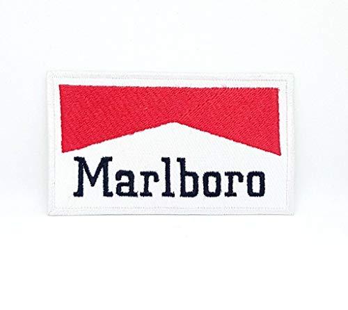 Marlboro Formel-1-Jacken-Aufnäher, bestickt, 8,7 x 5 cm