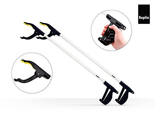 KEPLIN Lightweight Grab & Grip Reaching Litter Picker Rubbish Pick Up Hand Tool New (2)