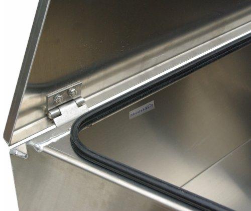 ADE – Premium Deichselbox von Edelstahlhaus, Transportbox, Alubox für PKW Anhänger D2A20N100-075-35-40 - 2