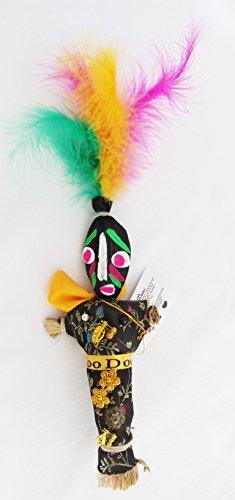 Voodoo Doll Black Good Luck Power Money Health Prosper Revenge Spells Magic New Orleans