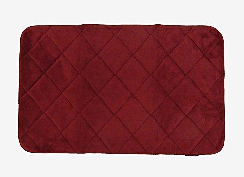 tappeto Memory rosso 50x80 tappeto bagno, create la vostra area di benessere quotidiano. Tappeto scendiletto, tappeto tinta unita, tappeto antiscivolo. In offerta !