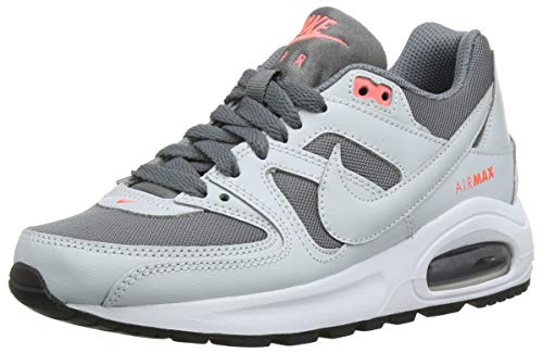 Nike Damen Air Max Command Flex (GS) Laufschuhe, Mehrfarbig (Cool Grey/Pure Platinum 001), 35.5 EU