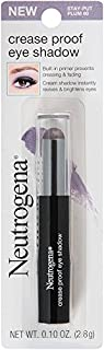 Neutrogena Crease Proof Eye Shadow, Stay Put Plum 60, 0.10 Ounce
