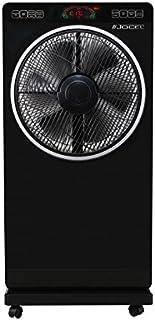 Jocel JVSP030511 Ventilador Nebulizador, 80 W, Plástico, 3 Velocidades, Negro