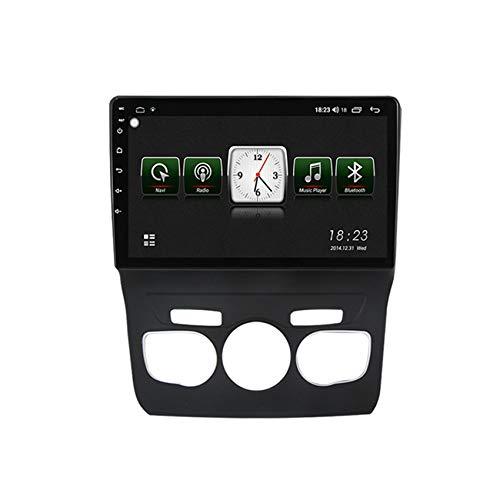 Flower-Ager Android 10 Autorradio Estéreo para Citroen C4L 2013-2016 Navegación del Coche Reproductor Multimedia GPS Radio con carplay BT5.0 Controles del Volante,7731,1+16G