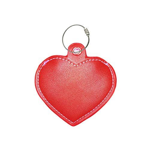 all4fit Love Heart Schlüsselanhänger/Schlüsselanhänger, Style Zubehör für trackr Bravo/trackr Pixel/Tile Mate/Tile pro/, rot, trackr/Tile Mate/Tile pro