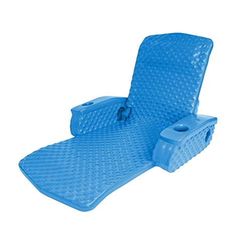 TRC Recreation Super Soft Adjustable Recliner, Bahama Blue