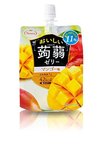たらみ おいしい蒟蒻ゼリー マンゴー味 150gパウチ×30(6×5)本入