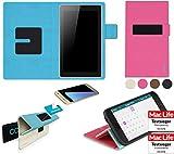 reboon Hülle für HiSense Sero 7 Tasche Cover Hülle Bumper | in Pink | Testsieger