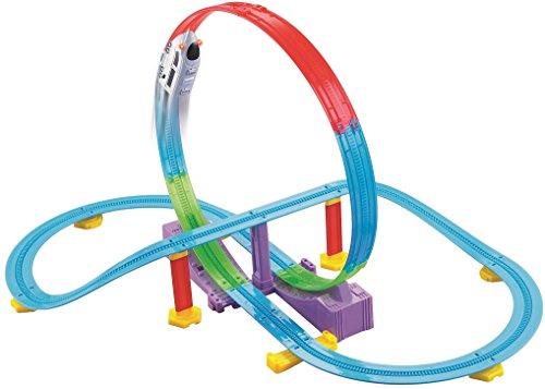 Haktoys LOCO Track Racer Roller Coaster Building Entertaining Playset,...