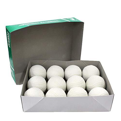 ナイガイ 軟式ボール J号球 少年野球 J号 小学生向け 試合球 1ダース (12個入) 133210 -