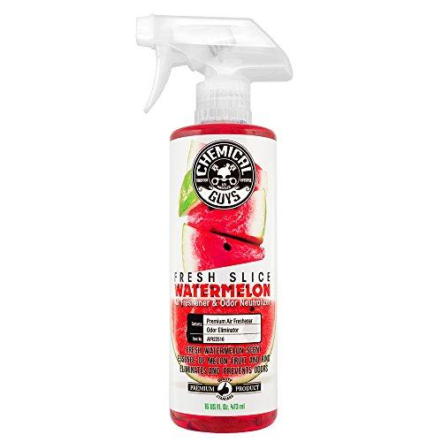 Chemical Guys AIR22516 Fresh Slice Watermelon Premium Air Freshener and Odor Eliminator, 16 fl. oz