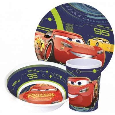 myToyscenter Geschirr, Melamin Set Disney Cars,