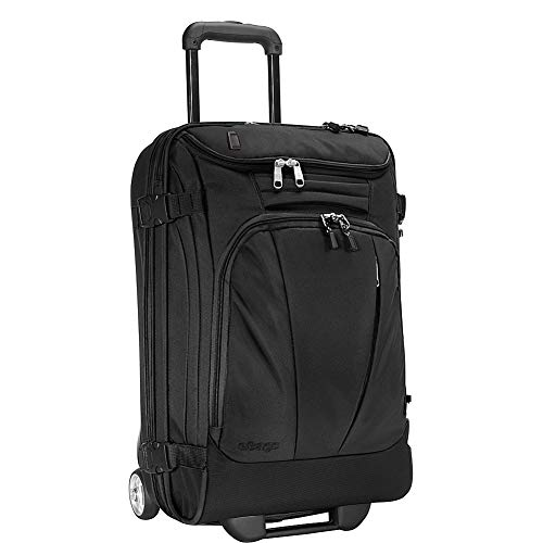 eBags TLS Mother Lode Mini 21 Inch Wheeled Carry-On Duffel with USB Port (Black