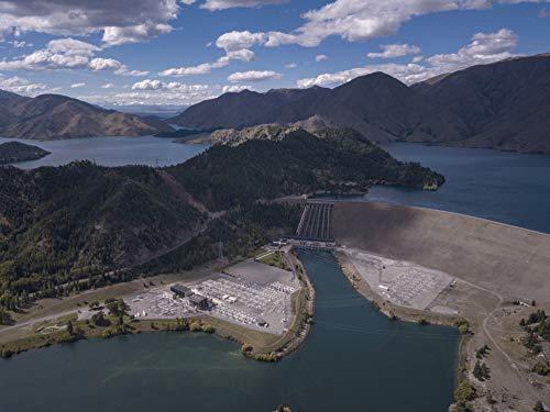 Neuseeland: Die Benmore Dam Powerstation... oder... Jagd nach dem Sonnenuntergang